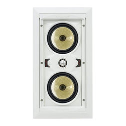 Speakercraft - Aim Lcr 5 Pivoting In-Wall Home Theater Speaker, Individual - Audio-Direct.com has been serving customers since 2001 with world class name brand electronics.