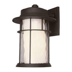 Trans Globe Lighting - Trans Globe Lighting LED-5292 BK LED Outdoor Wall Light In Black - Part Number: LED-5292 BK