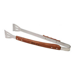 Bull BBQ - Bull Outdoor Vineyard Rosewood Handle Tongs - Our Tongs have contoured rosewood handles and have extra long reach for all your grilling needs.