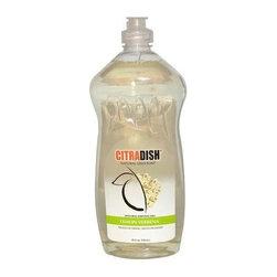 Citrasolv Citradish Natural Dish Soap Lemon Verbena - 25 Fl Oz - Case Of 12 - CitraSolv CitraDish Natural Dish Soap Lemon Verbena Description: