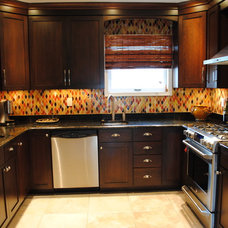 Contemporary Kitchen Cabinetry by Sterling Kitchen & Bath