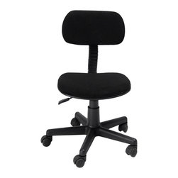 Ergonomically Task Chair with Fabric Pads - Product Description: