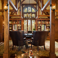 Traditional Home Office by Aulik Design Build