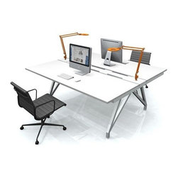 Scale 1:1 - Scale 1:1 | EYHOV Rail Double Desk - Design by David Winston.