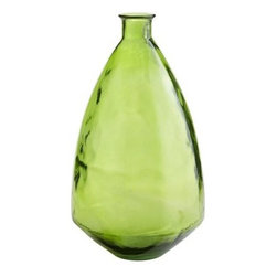 Recycled Glass Vase, Lime Green - I love the vintage demijohn vibe of this recycled glass beauty. I can already see it becoming a go-to piece, especially when dining outdoors.