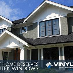 Homes With Vinyltek Windows -