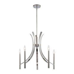 Designer Fountain - Cordova 5-Light Chandelier - 5-light chandelier