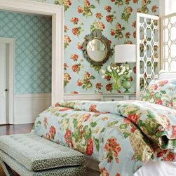 Thibaut Wallcoverings and Fabrics - Thibaut Anniversary Collection of fabrics and wallcoverings - Bellhaven