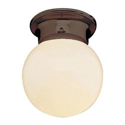 Trans Globe Lighting - Trans Globe Lighting PL-3606 ROB Flushmount In Rubbed Oil Bronze - Part Number: PL-3606 ROB