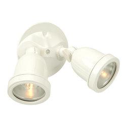 Craftmade - Craftmade Z412-4 Flood 2 Light Outdoor Flood Light - Features: