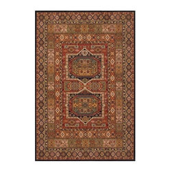 Momeni - Traditional Patchwork Inspired New Zealand Wool Rug - Persian Garden PG-16 (3.0 - Choose Size & Shape: 3.0 ft. x 5.0 ft. Rectangle. Power loomed. Space-dyed yarn. 100% New Zealand Wool. Care InstructionInspired by the rarest Persian Antique pieces, Persian Garden is a unique collection of power-loomed rugs that evoke a sense of the past in modern-day colors and interpretations. These rugs feature an abrash effect and hand-serged edges for a quality finish.