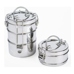 To-Go Ware - To-Go Ware 2 Tier Stainless Steel Food Carrier - in india, students and adults have long relied on tiffins to carry their meals. For many people, these reusable Containers are more readily available and cost,effective than paper and plastic products, making them preferable to most disposables.