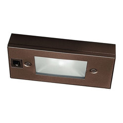 """WAC - WAC Bronze Xenon 6"""" Wide Under Cabinet Light Bar - Bring out the ..."""