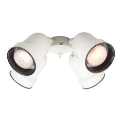 Craftmade - Craftmade 4-Spot Ceiling Fan Light Kit X-W-LFC404KL - 4 Spot Light Kit w/ CFL Bulbs Included - W