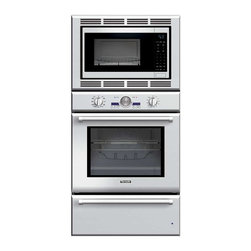 Thermador - 30 inch Professional Series Triple Oven (oven, convection microwave and warming - Convection two ways, plus a warming drawer. Our Triple Combination Oven gives you the convenience of a True Convection oven, a 1000-watt convection microwave, and a warming drawer.