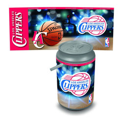 Picnic Time - Oklahoma City Thunder Bongo Cooler - The Extra large Can Cooler by Picnic Time is a hard-sided cooler and large beverage can replica that also doubles as a seat. It holds twenty seven 12-oz. cans and has a 5 gallon capacity. It features a snugly fitting, fully removable lid and folding handle. Perfect for the beach, patio, tailgating, parties, and sporting events. Made of HDPE.; Decoration: Digital Print; Includes: 1 removable lid