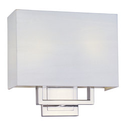 ET2 - ET2 E21081-01SN Edinburgh Led 2-Light Wall Mount - ET2 E21081-01SN Edinburgh Led 2-Light Wall Mount