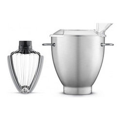 Breville Scraper Whisk with 3-Quart Mixing Bowl