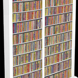 Venture Horizon - VHZ Entertainment Large Double Multimedia Storage Rack - Features: -Media storage of 1508 CD''s, 624 DVD''s, 352 VHS, or 304 oversized (Disney) VHS. -Adjustable shelving. -Lighter & less expensive than the competition. -Choose to assemble any tower with or without the decorative top molding depending upon the look you want. You may have seen other Media Storage Towers in your journeys but you have never come across the styling, variety, storage capacity or value for the money. The Media Storage Towers will indeed hold an entire media collection and then some. Assembly Instructions