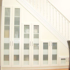 Contemporary Staircase by StorageSolutions4U