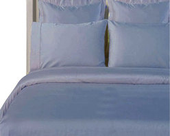 """Bed Linens - 100% Bamboo Duvet cover Set  """" Silky Super Soft Covers"""" Full-Queen Light-Blue - Wrap your self in the softness of the luxurious 100% silky bamboo duvet covers like those found in royalty homes. You won't be able to go back to cotton covers after trying these 100% bamboo. Amazingly soft similar to cashmere of silk. 60% more absorbent than cotton. Sustainable, fast growth rate over 1 meter per day. Requires significantly less pesticides than cotton and is naturally irrigated. Natural anti-bacterial and deodorizing properties."""