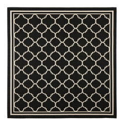 Safavieh - Safavieh Courtyard Transitional Rug X-3-622-8196YC - Safavieh takes classic beauty outside of the home with the launch of their Courtyard Collection. Made in Belgium with enhanced polypropylene for extra durability, these rugs are suitable for anywhere inside or outside of the house. To achieve more intricate and elaborate details in the designs, Safavieh used a specially-developed sisal weave.