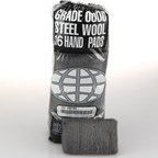 GLOBAL MATERIAL TECHNOLOGIES - 4 Steel Wool 16 Pads Sleeve|12SLV/CS - Hand-size Steel Wool pads for general use. Choose from eight grades for professional results on stripping, cleaning, Finishing and polishing tasks.