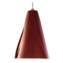 A19 Lighting - A19 Lighting LVMP05-RR Whirl Mini Pendant Red Rock - A19 Lighting LVMP05-RR Whirl Mini Pendant Red Rock