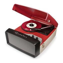 Crosley Radio - Collegiate Turntable - Belt driven turntable mechanism