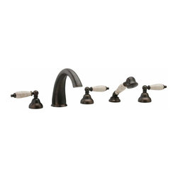 Phylrich K2158DT1 Carrara Roman Tub Faucet Trim Only (Rough Valve Required) -