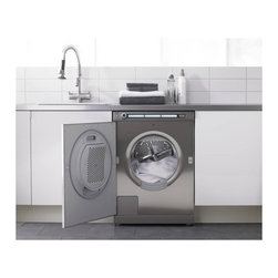 Asko 2.12 Cu. Ft. Fully Integrated Front Load Washer, Custom Panel | W6984FI - STYLE COW6984FINTROL W/ FULL LCD DISPLAY