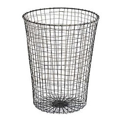 Traditional wastebaskets find household wastebasket designs online - Cool wastebaskets ...