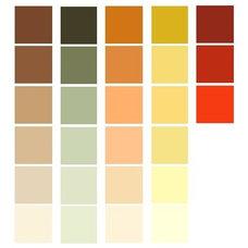 Prairie style colors, Craftsman interior colors