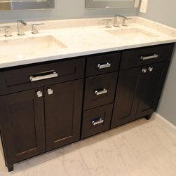 Fresh & Clean Inset Kitchen - HomeCrest Bathroom Vanity