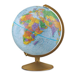 Replogle - Explorer Desktop World Globe - Desktop globe is available in English, French & Spanish