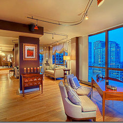 Chicago Penthouse by Expressive Interiors - Photo Credit: Norman Sizemore