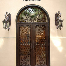 Mediterranean Front Doors by D'Hierro Hand Forged Iron
