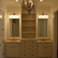 traditional bathroom vanities and sink consoles by Southern Cabinet Works Inc
