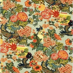 Chiang Mai Dragon Fabric