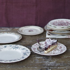 Traditional Plates by Greenhouse Design Studio