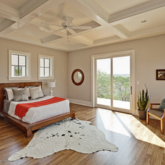 eclectic bedroom by Redbud Custom Homes