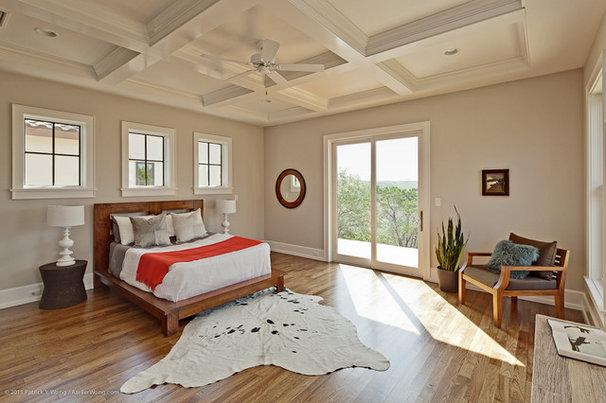 Transitional Bedroom by Redbud Custom Homes