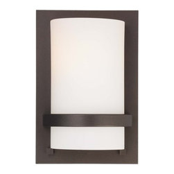 Minka Lavery - Minka Lavery 342 1 Light ADA Wall Sconce from the Fieldale Lodge Collection - Single Light ADA Wall Sconce from the Fieldale Lodge CollectionFeatures: