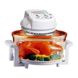 Arista - Halogen Infrared Turbo Convection Countertop Oven w/ Extension Ring, Tongs, Rack - DESCRIPTION