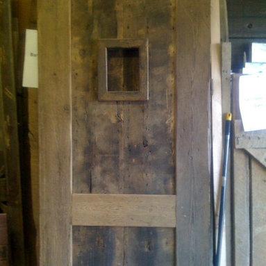 Barn Doors - Custom Barn door by True American Grain. Call 949-637-2992 for details