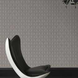 Graham & Brown - Cinema Wallpaper - We were inspired by the intricate interiors of the art deco theatres, Cinema's simple arches layer and repeat to reveal a sophisticated geometric beige and gold pattern, this will look good in any room in your home.