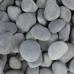 Rain Forest - 20 Lb Mexican Beach Pebbles, 3-5 cm - Margo Garden Products Beach Pebble collection offers hand-picked stones from the most beautiful beaches in the world. All stones are naturally created and tumbled in its natural habitat to produce the most smooth and rounded rock for outdoor gardens and interior design and landscaping. This 20 lb. bag is easy to tote and store for adding a beautiful and long lasting accent to your landscape and design. Use Beach Pebbles as a substitute to mulch along walkways and outdoor gardens, in fountains, in interior and exterior planters and in creative interior and exterior design.