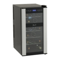 Avanti - 18 Bottle Dualzone Wine Cooler - Dual Zone Wine Chiller