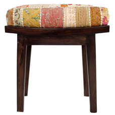 nuLOOM Casual Living Multi Patchwork Stool | Overstock.com Shopping - The Best D