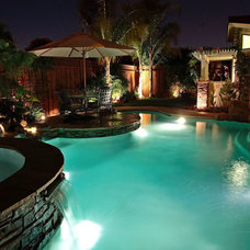 Eclectic Pool by Artisan Home Resorts
